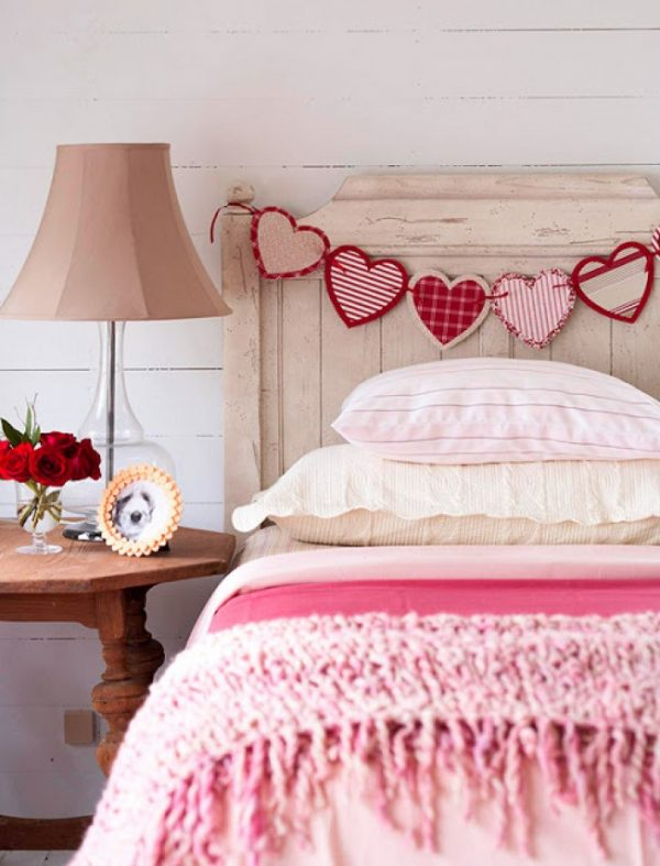 diy valentine's day room decor