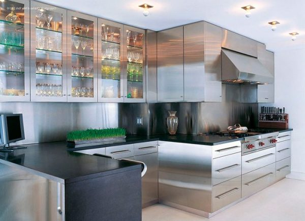 stainless steel kitchen design ideas - littlepieceofme