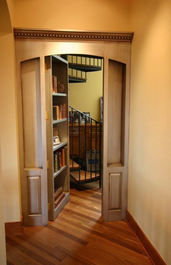 secret doors in homes