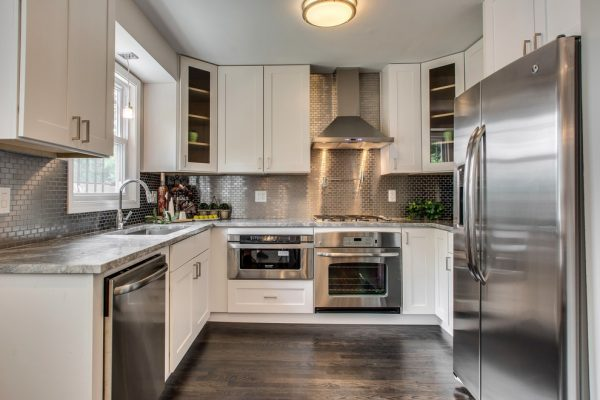 stainless steel home kitchen