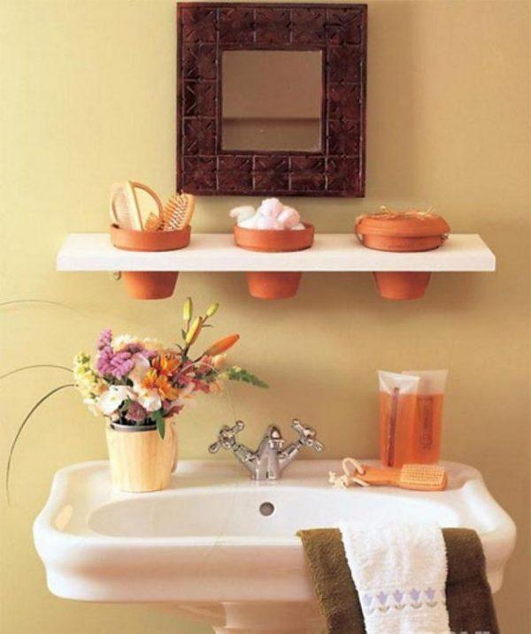 organization ideas for small bathrooms