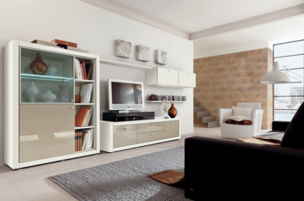 modern white gloss furniture