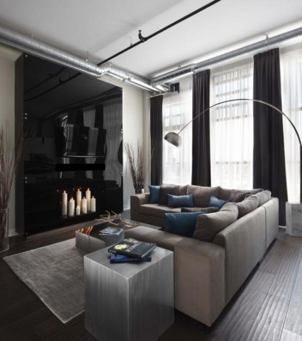 black gloss furniture