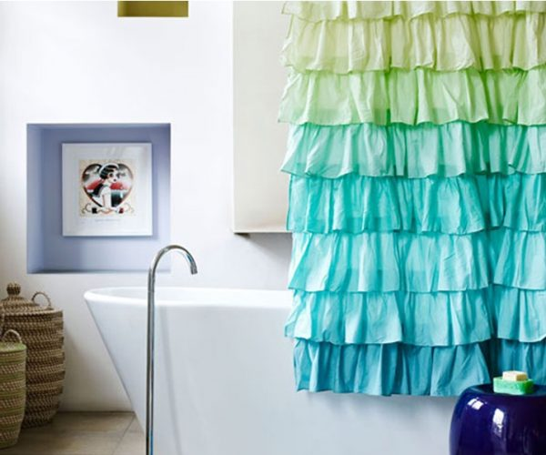 bathroom drapes and curtains