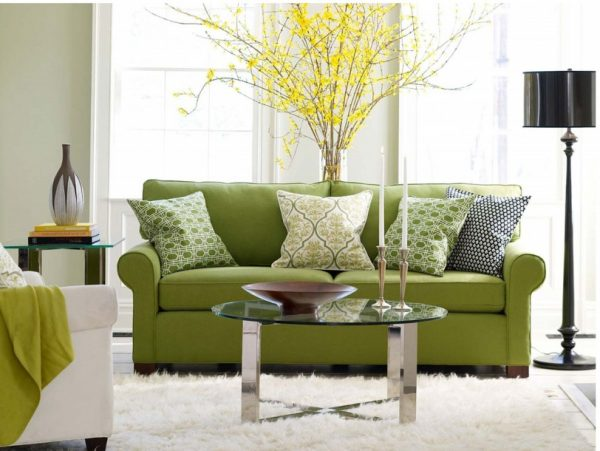 Glossy furniture for living room 1