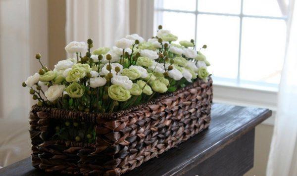 ideas for wicker baskets