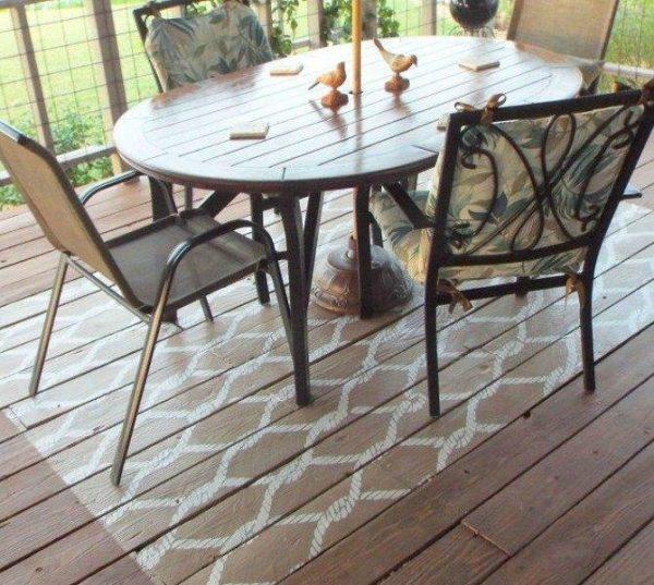 ideas for porch flooring