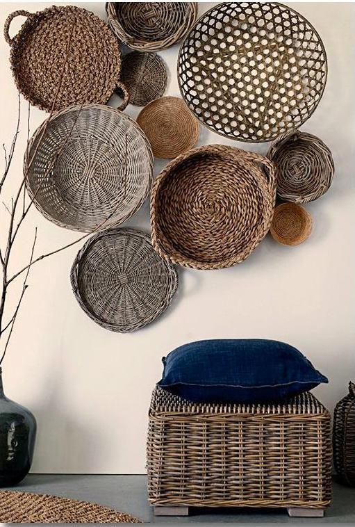 basket decoration at home