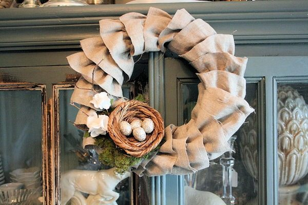 Easter wreath craft ideas