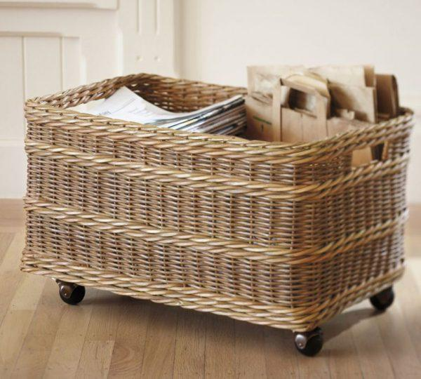 What to do with old baskets
