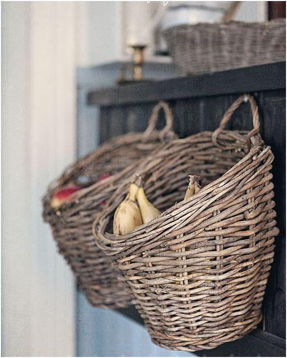 basket organization ideas