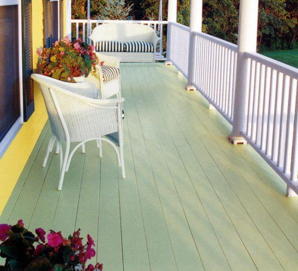 porch floor paint ideas little piece of me On deck floor paint