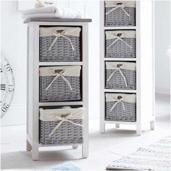 storage baskets for shelves