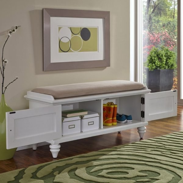 storage and seating benches