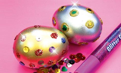 fancy easter eggs