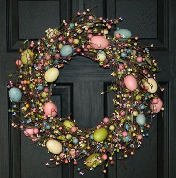 easter wreaths for front door