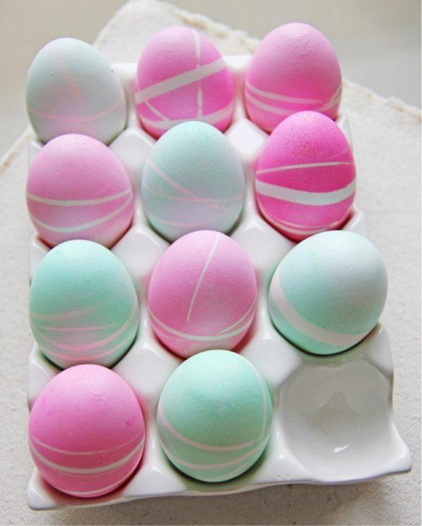 decorated eggs for easter