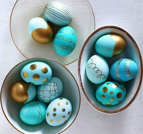 cool ways to decorate easter eggs