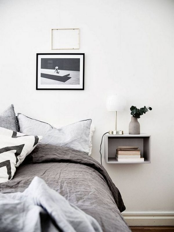wall mounted night table