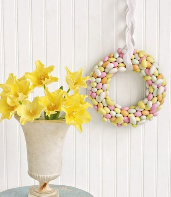 homemade easter wreaths