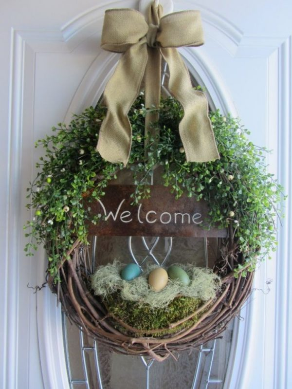 easter door wreaths