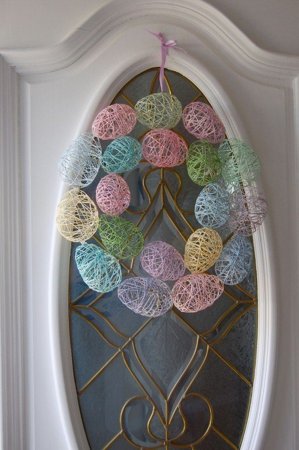 easy easter wreaths