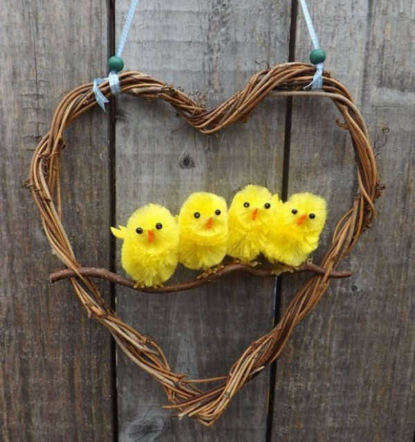 easter grapevine wreath ideas