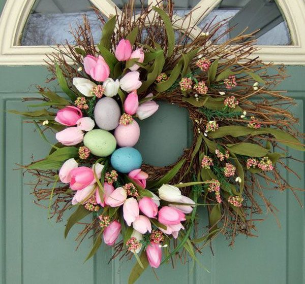 wreath easter