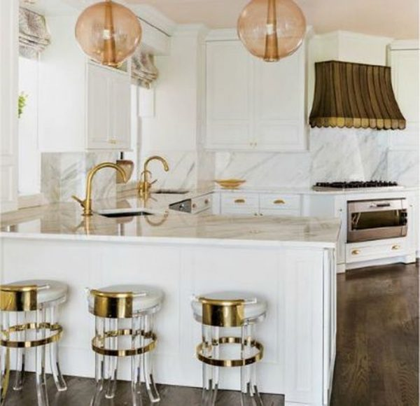 Refresh Your Kitchen With Brass Accents