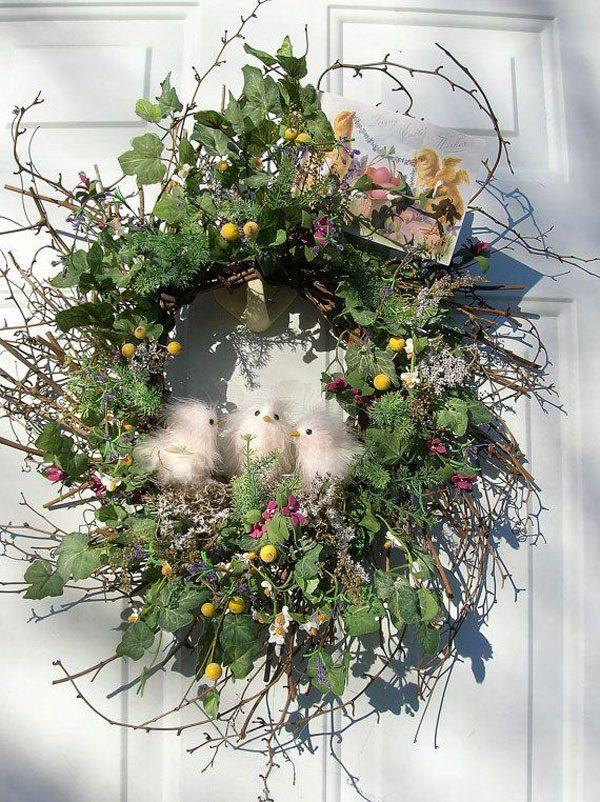 easter wreath diy