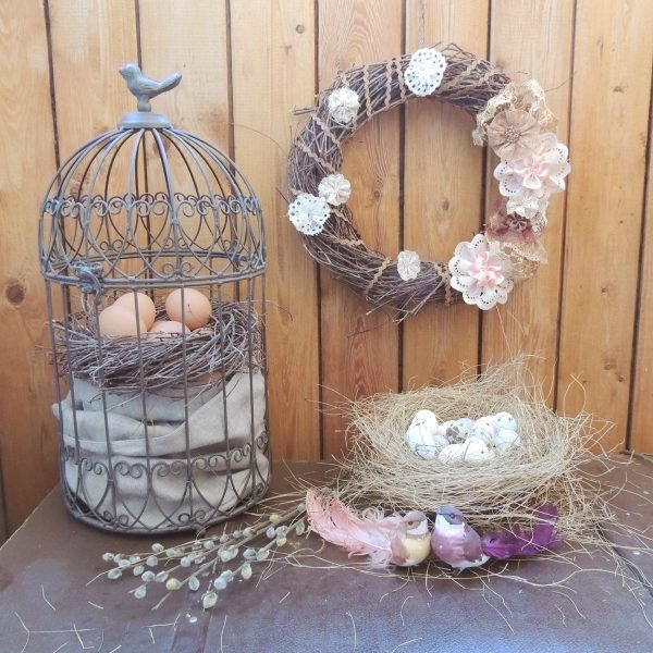 old fashioned easter decorations