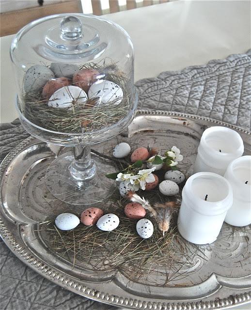 Easter vintage decorations