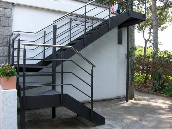 metal staircase outdoor