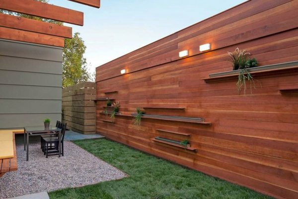 privacy wood fence styles
