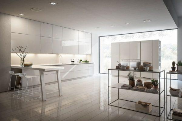 open white kitchen cabinets