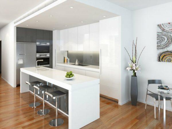 white kitchen cabinet styles