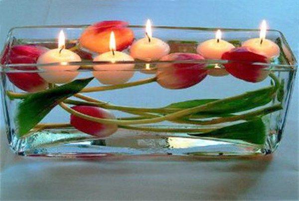 tulip centerpiece ideas