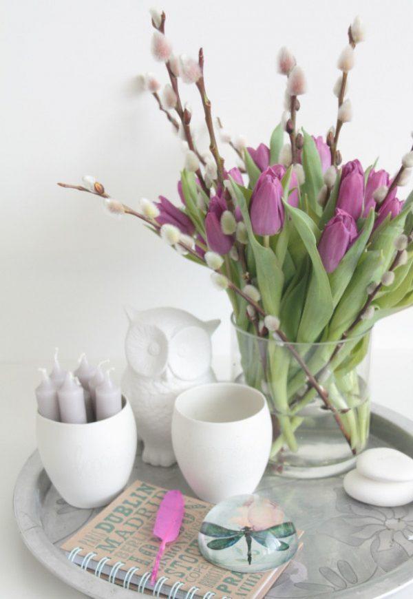 beautiful tulip arrangements