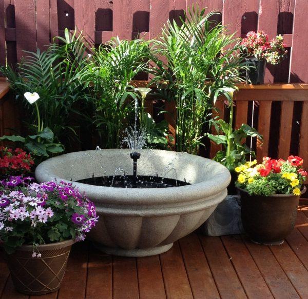 garden fountains ideas