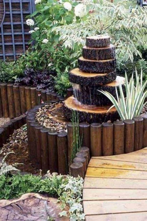 patio water fountain