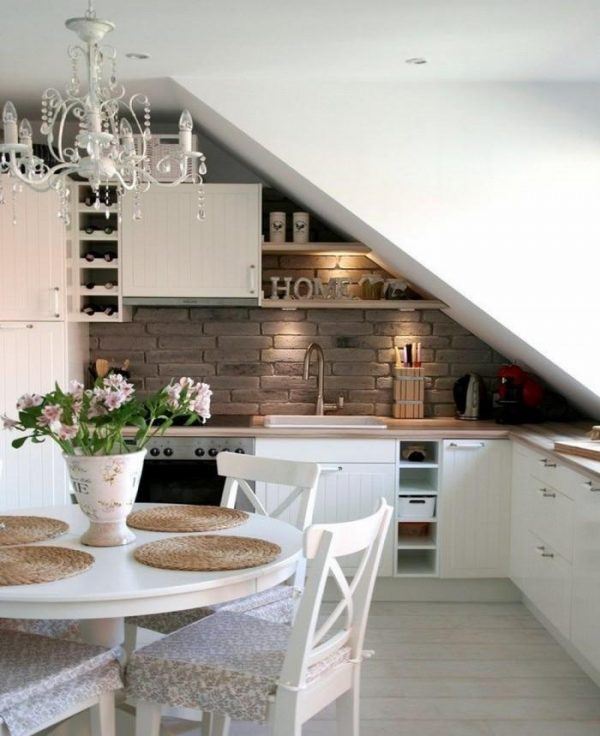 Superb Image Credit. Loft Kitchen Ideas