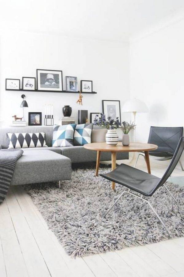 small grey corner sofa