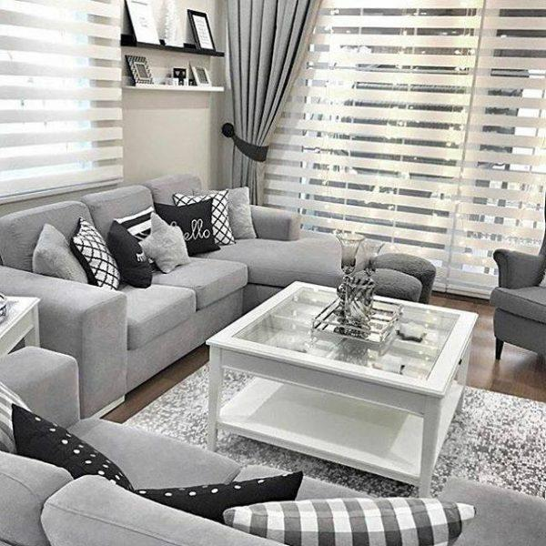 decorating ideas for gray living room