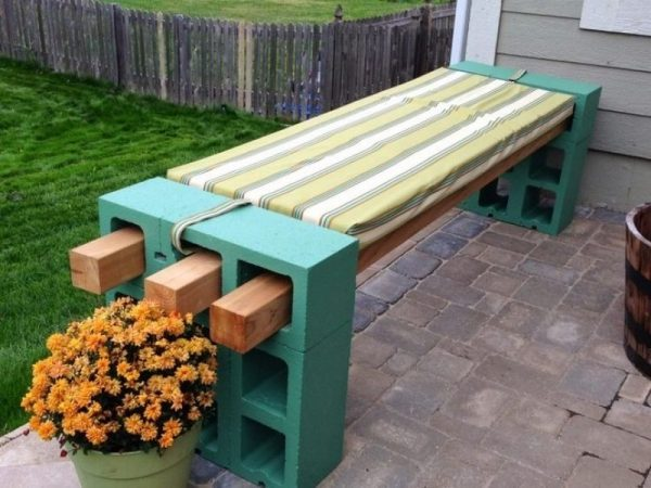diy outdoor bench seat