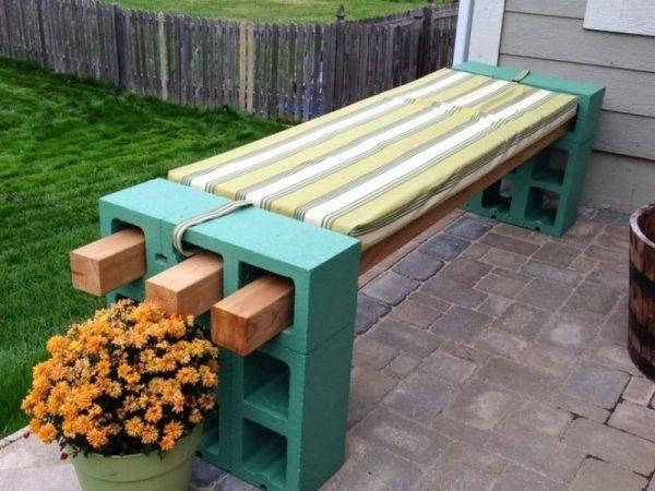 Diy Outdoor Bench Seat