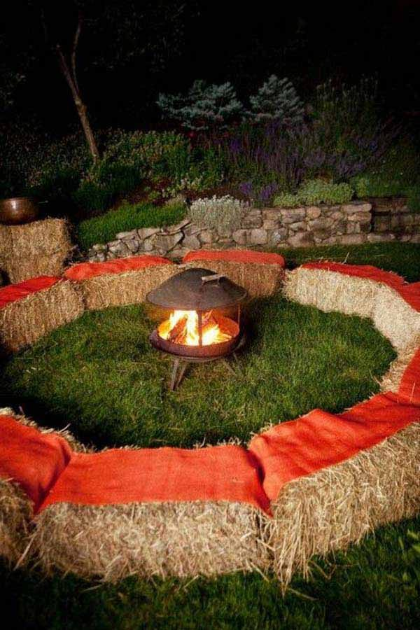Diy garden seating 1