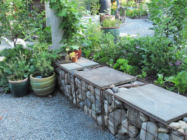 backyard sitting area designs