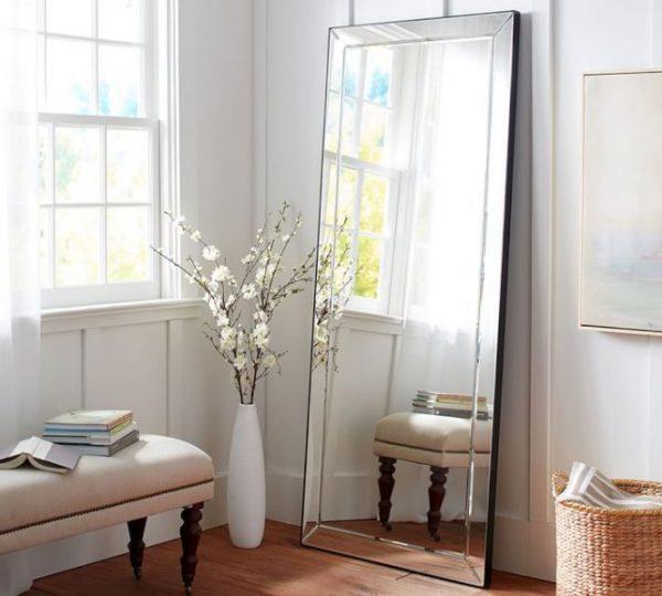 standing bedroom mirror