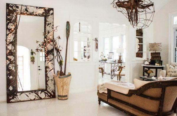 large standing floor mirror