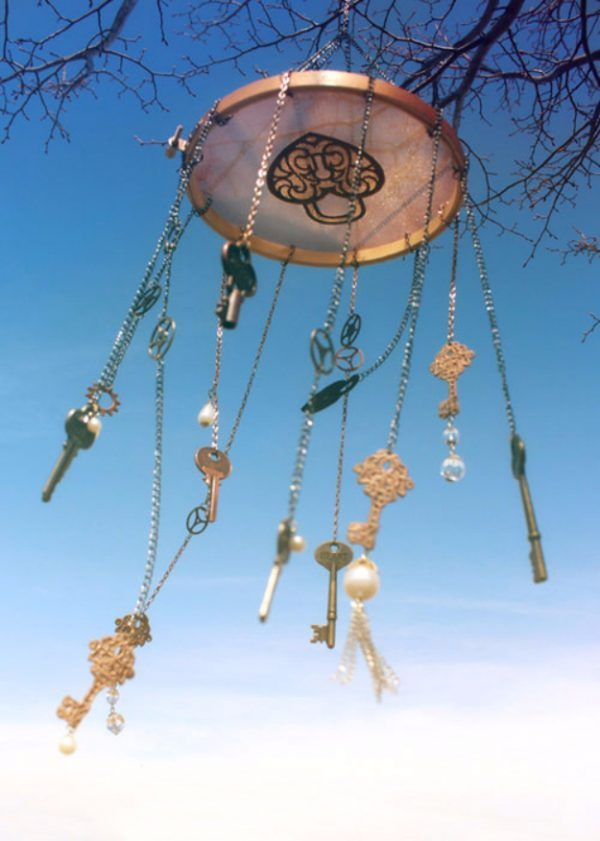 12 ideas for making wind chimes